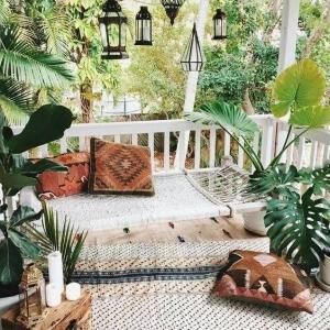4 // Boho // Plants // Outdoor Spaces