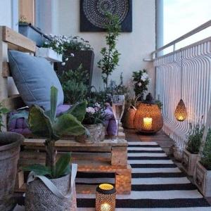 7 // Boho // Plants // Outdoor Spaces