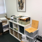 BEFORE // My Office Space at Work