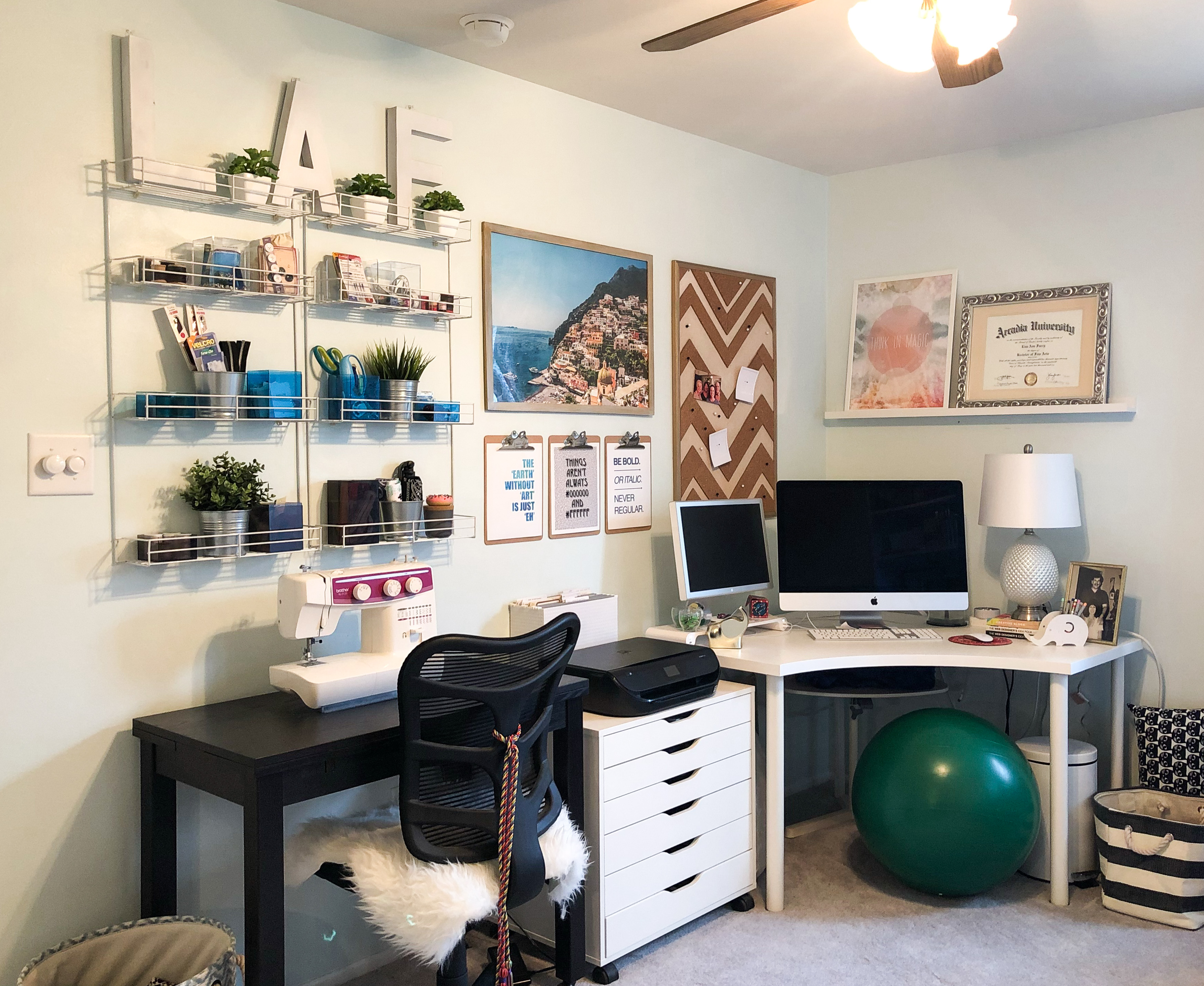 House Tour Office Studio E