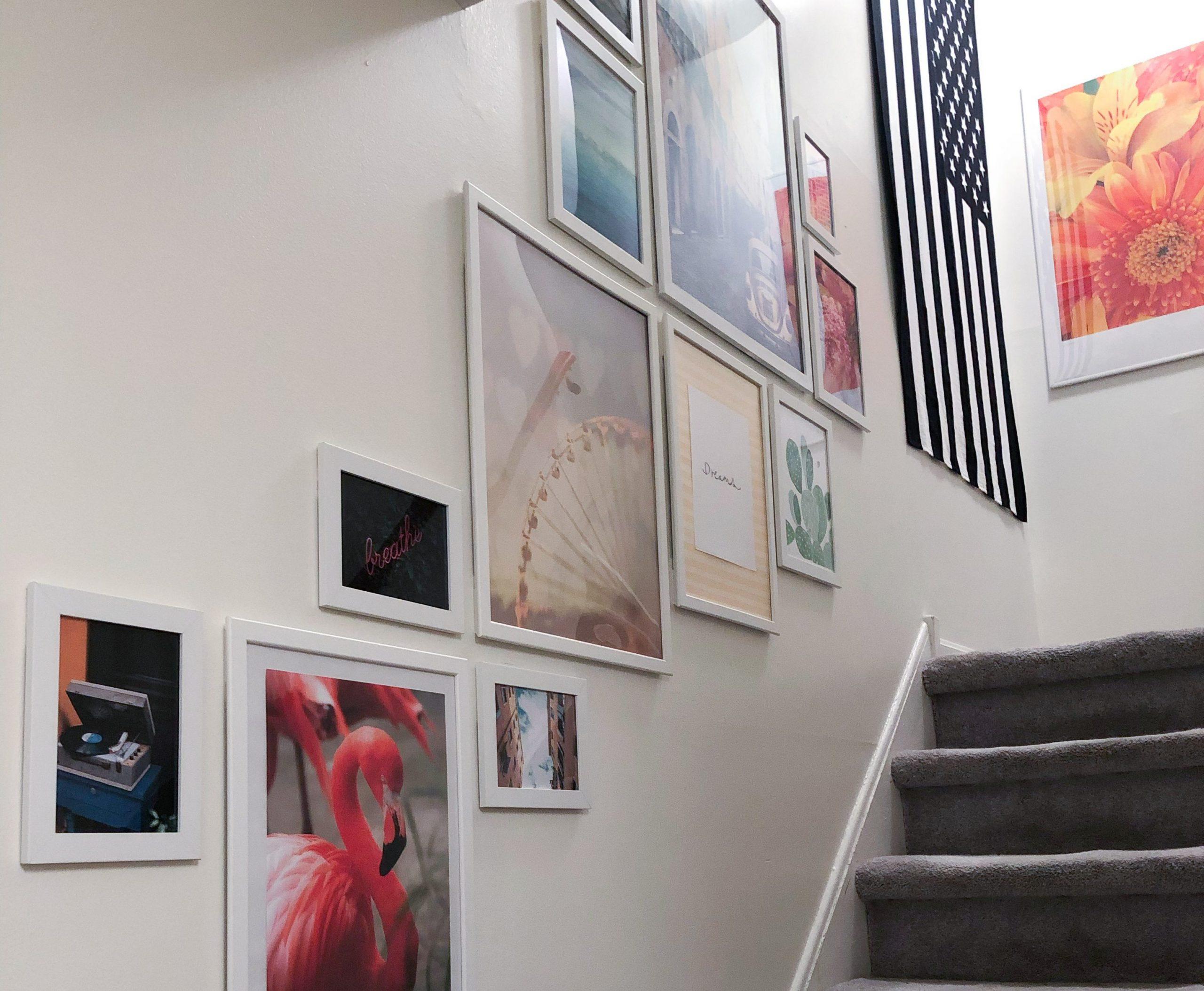 House Tour Update // Stairway