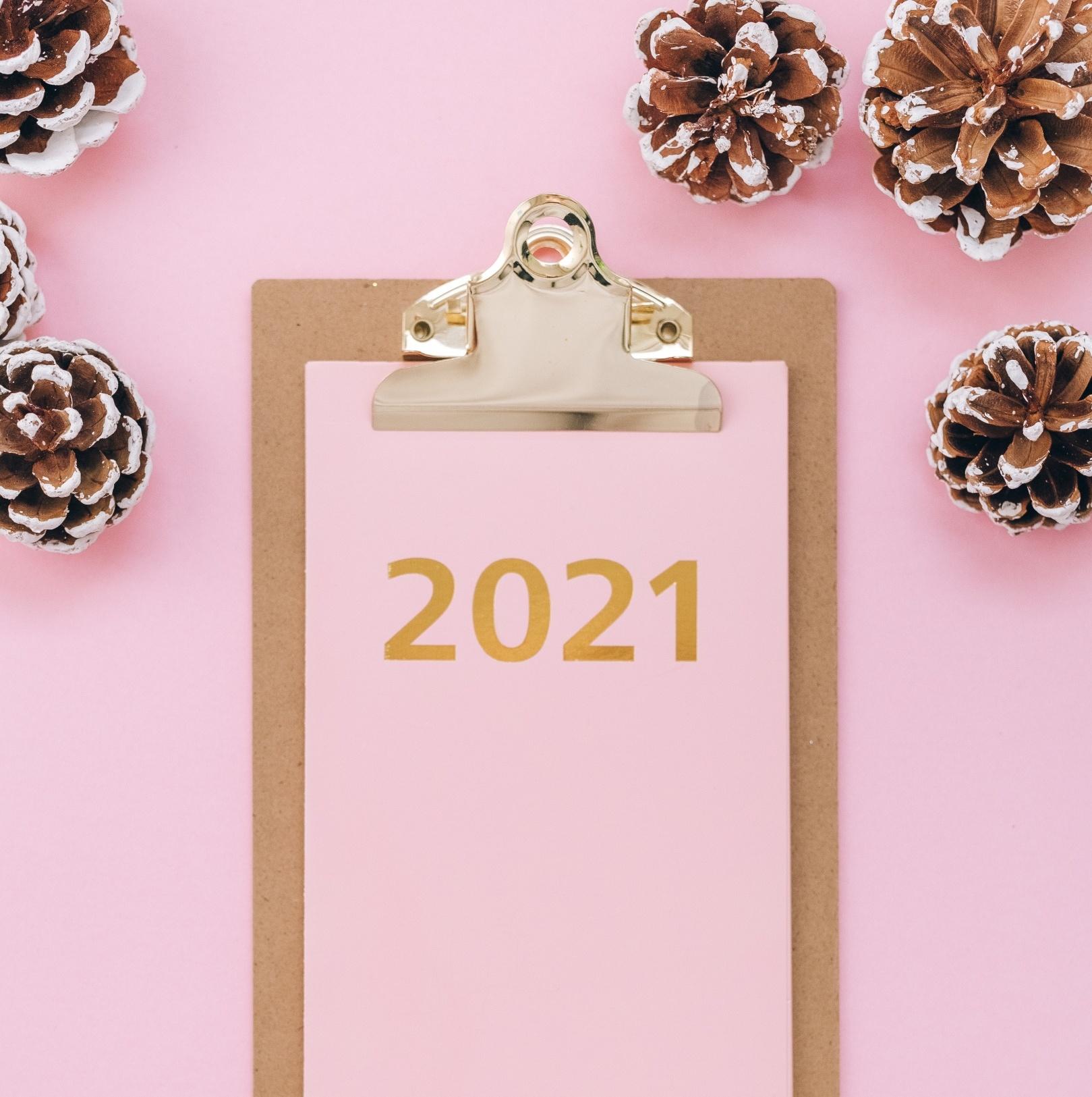 Cheers to 2021! My Focus + 12 Quantitative Goals